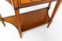 19th Century French Mahogany & Satinwood Console Table (5 of 9)