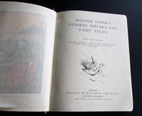 1880 Illustrated Mother Goose's Nursery Rhymes  & Fairy Tales.  1st Edition (2 of 6)