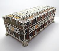Quality Victorian Anglo Indian Antique Vizagapatam Trinket Jewellery Box Casket, 19th Century India (3 of 11)