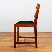 Set of 6 1930s Golden Oak Dining Chairs in the Manner of Heal's (6 of 16)