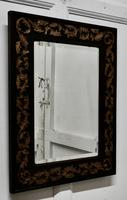 19th century Carved Oak and Gilt Wall Mirror (4 of 6)