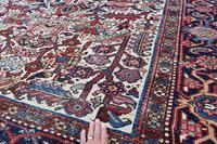 Old Heriz Carpet 309x214cm (5 of 9)