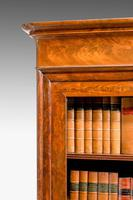 19th Century Walnut Bookcase/Chinese Cabinet (3 of 5)