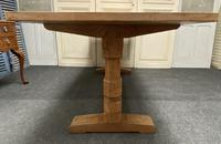 Oak Farmhouse Refectory Dining Table (2 of 17)