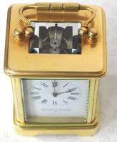 Antique Miniature 8 Day Carriage Clock by Walters & George Regent Street Rare (2 of 14)