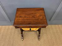 Regency Period Rosewood Work Table (10 of 15)