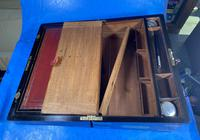 Victorian Full Brassbound Rosewood Writing Slope (19 of 19)