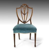 Most Attractive Set of 8 Early 20th Century Hepplewhite Chairs of Classical Form (4 of 5)