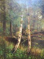 'John Williamson' Superb Woodland Landscape Oil Painting (3 of 11)