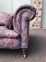 Antique English Upholstered Chesterfield Sofa (2 of 12)