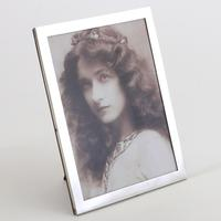 Quality Rectangular Silver Photograph Frame by Stokes & Ireland Chester 1916