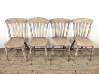Four 19th Century Farmhouse Kitchen Chairs (2 of 12)
