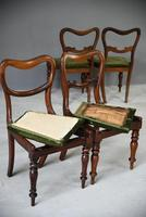 6 Harlequin Victorian Rosewood Dining Chairs (11 of 11)