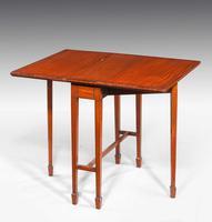 Edwardian Period Satinwood Sutherland Table (2 of 5)