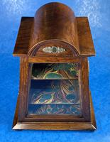 Victorian Oak Miniature Display Cabinet (10 of 11)