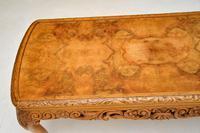 Antique Burr Walnut Coffee  Table (5 of 7)