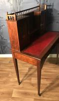 Edwardian Inlaid Rosewood Desk (21 of 23)