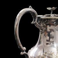 Antique Decorative Tea Urn, English, Silver Plate, Teapot, Edwardian c 1910 (8 of 12)