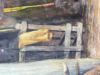 "Watercolour ""Tending The Sheep"" By Bertha Rhodes RA Rca Exh 1905 -1912 (38 of 41)"