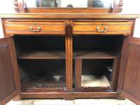 Antique Mahogany Sideboard with Mirror Back (8 of 13)