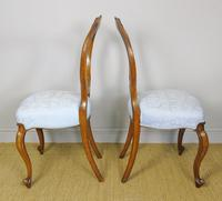 Pretty Pair of Victorian Balloon Back Chairs (4 of 6)