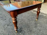Victorian Mahogany Extending Dining Table with 3 Leaves seats 12 (7 of 8)