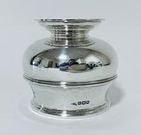 Antique Solid Sterling Silver Sugar Bowl by Walker & Hall (11 of 12)