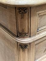 Quality 19th Century French Bleached Pedestal Desk (19 of 25)