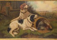 First Catch 19thc - Oil On Canvas - Signed Indistinctly (3 of 3)