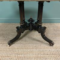 Stunning Victorian Oval Antique Dining Table (7 of 9)