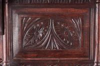 Fantastic 19th Century Antique Carved Oak Dresser (13 of 14)