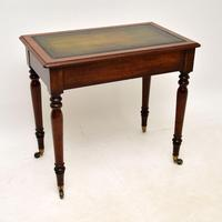 Antique  Victorian Mahogany Writing Table / Desk (10 of 10)