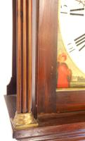 Fine English Longcase Clock Radcliff Elland 8-day Grandfather Clock with Moon Roller Dial (21 of 27)