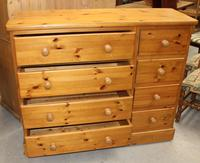 1960's Country Pine Merchants Chest Drawers (2 of 5)