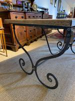 Spanish Wrought Iron Based Table (6 of 6)