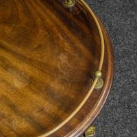 Victorian Cast Iron Drinks Table with Galley (2 of 7)
