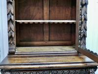 Pair of French Carved Gothic Oak Bookcases (11 of 12)