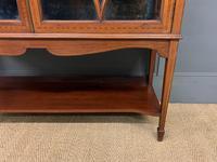Inlaid Mahogany Edwardian Display Cabinet (4 of 12)