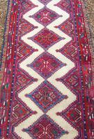Neat Antique Sarab Runner Carpet (3 of 8)