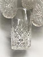 Superior Set of 8 Good Quality Cut Glass Water Tumblers (5 of 5)