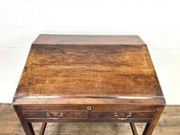 Antique Mahogany Clerk's Desk or Bureau (3 of 10)