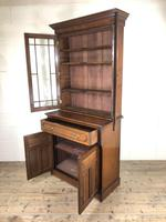 Antique 19th Century Two Stage Mahogany Bookcase (5 of 19)