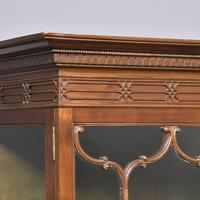 Antique Chinese Chippendale Mahogany Display Cabinet (3 of 13)