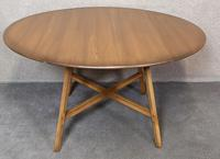 Vintage Ercol Drop Leaf Dining Table Golden Dawn (8 of 10)