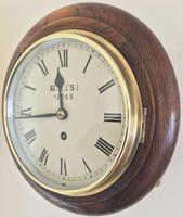 Eight Day Fusee British Rail Railway Clock (3 of 9)