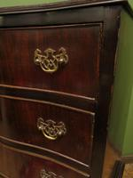 Antique Reproduction Serpentine Chest of Drawers, Chest on Chest by Hekman USA (17 of 17)