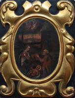 French School c1680 Nativity Oil on Canvas (5 of 9)