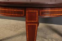 Large Inlaid Mahogany Extending Dining Table (20 of 20)