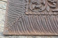Pair of Early 20th Century Carved Wooden Asian Panels (8 of 10)
