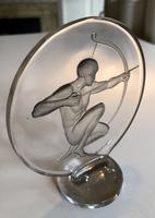 """""""Archer"""" Car Mascot by René Lalique (4 of 4)"""